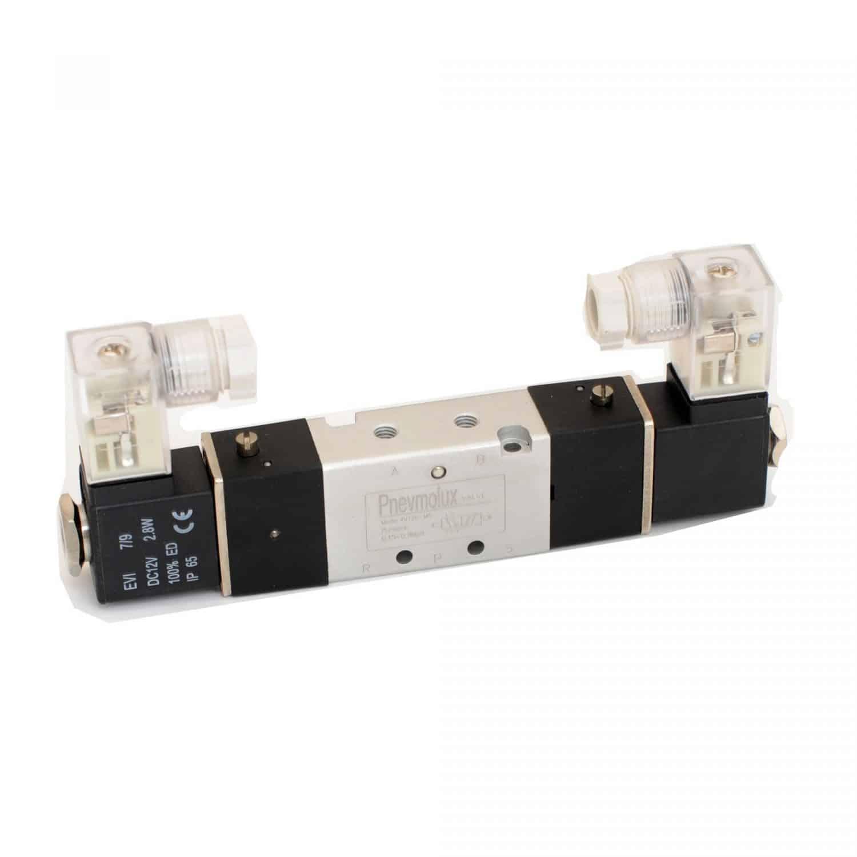 Пневмораспределитель с электромагнитным управлением