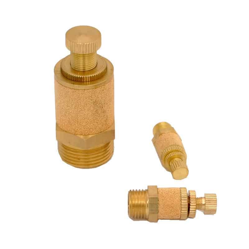 Дроссель-глушитель пневматический Pnevmolux