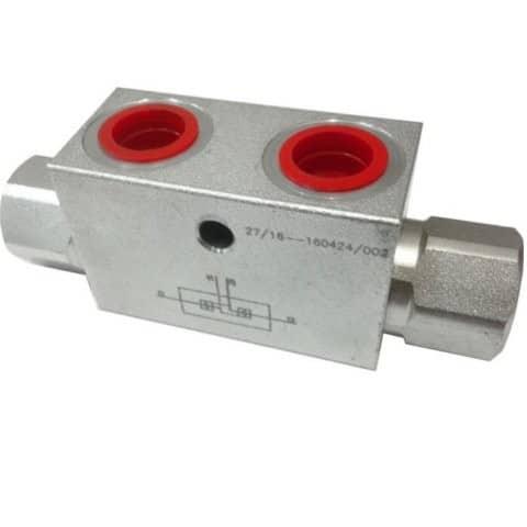 Bilateral hydraulic locks VPDE (VBPDE)