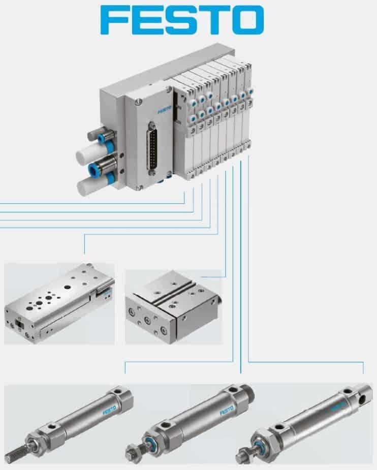 Пневматическое оборудование и системы автоматизации FESTO