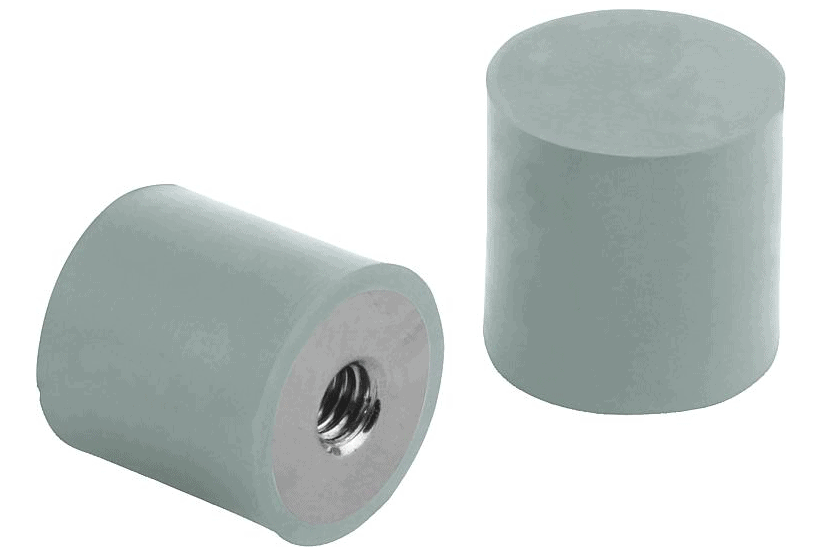 K1319 Виброопоры со внутренней резьбой, нержавеющая сталь